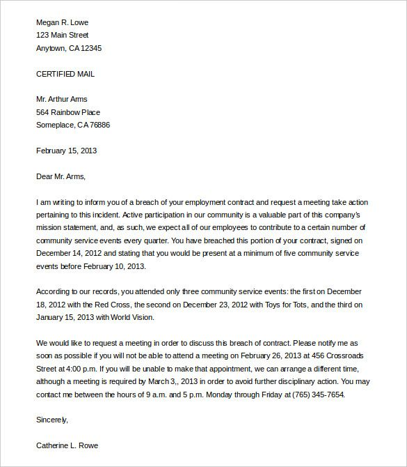 legal letter templates free sample example format download - sample legal letter format