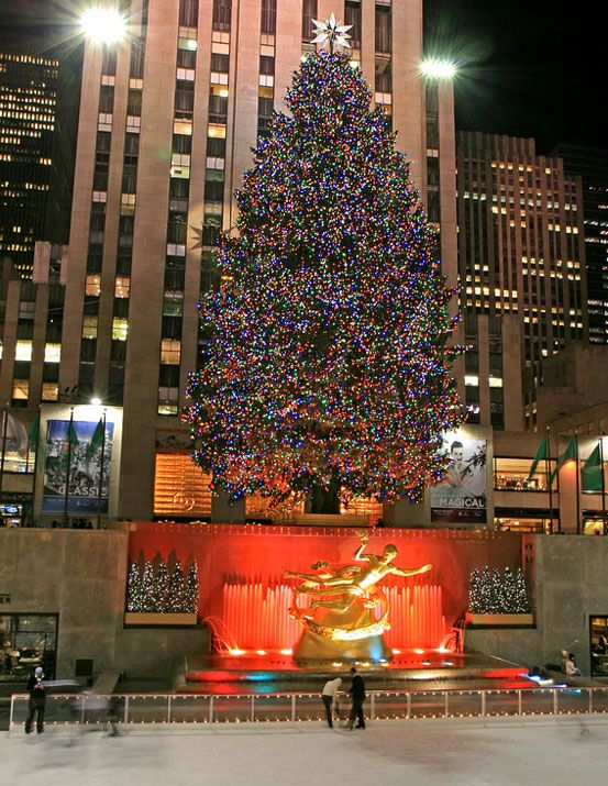 New York Christmas Tree 2019 The Christmas tree at Rockefeller Center, one of the prettiest