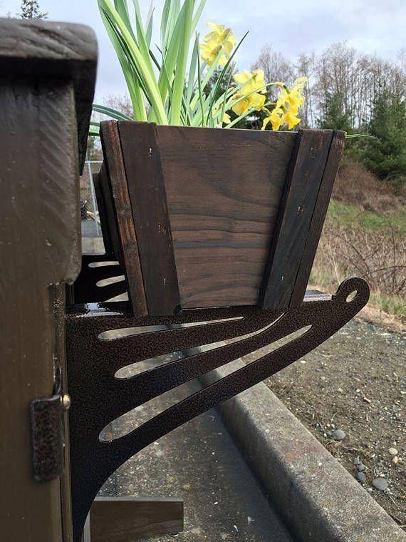 Kulshan Diy Balcony Railing Planter Box Bracket Set For 400 x 300