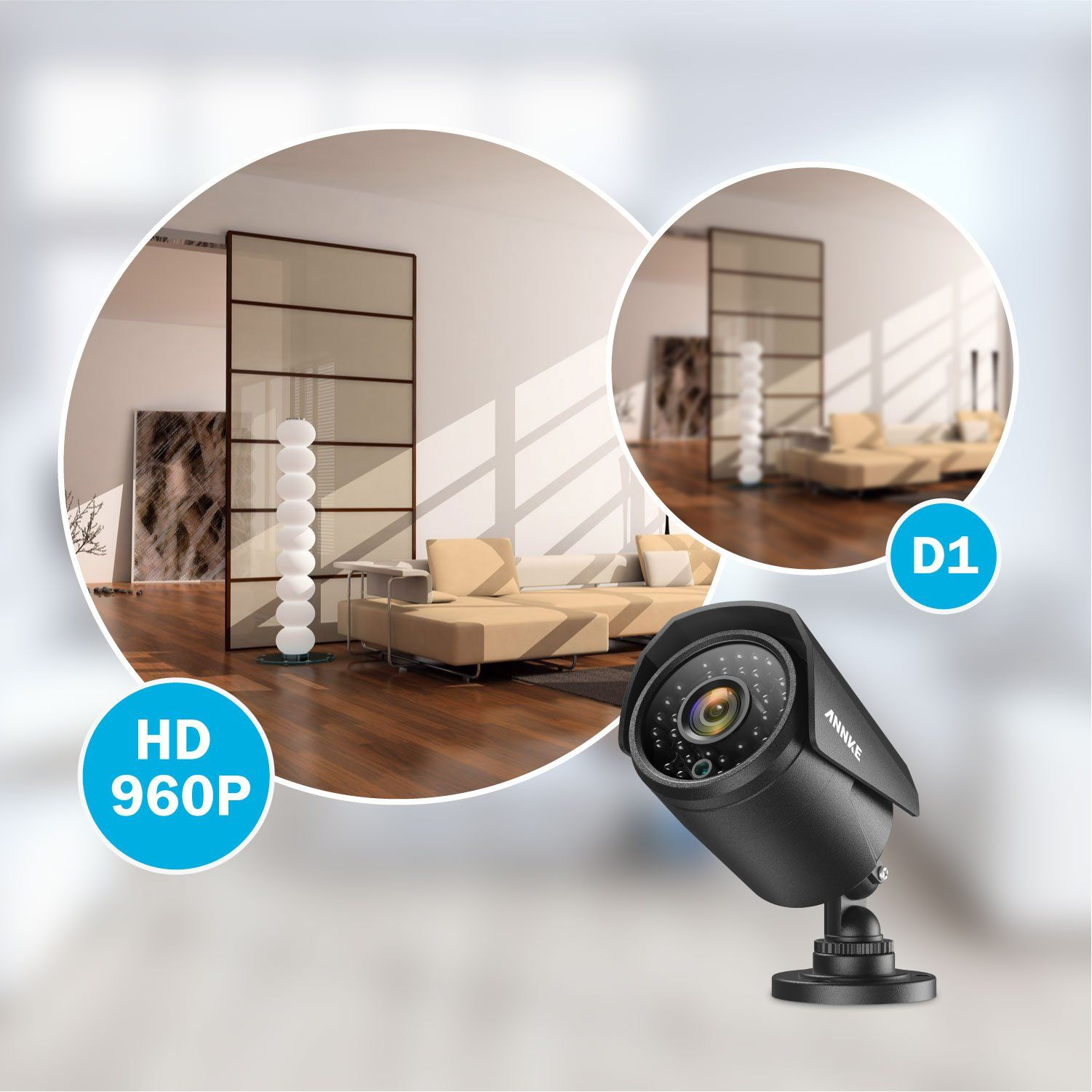 Annke 32Channel 720P CCTV Security System 1080N AHD DVR