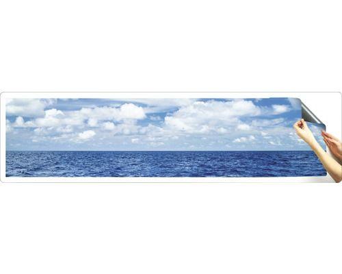 Kuchenruckwand Klebefolie Myspotti Splash Horizon 280x60 Cm Nische