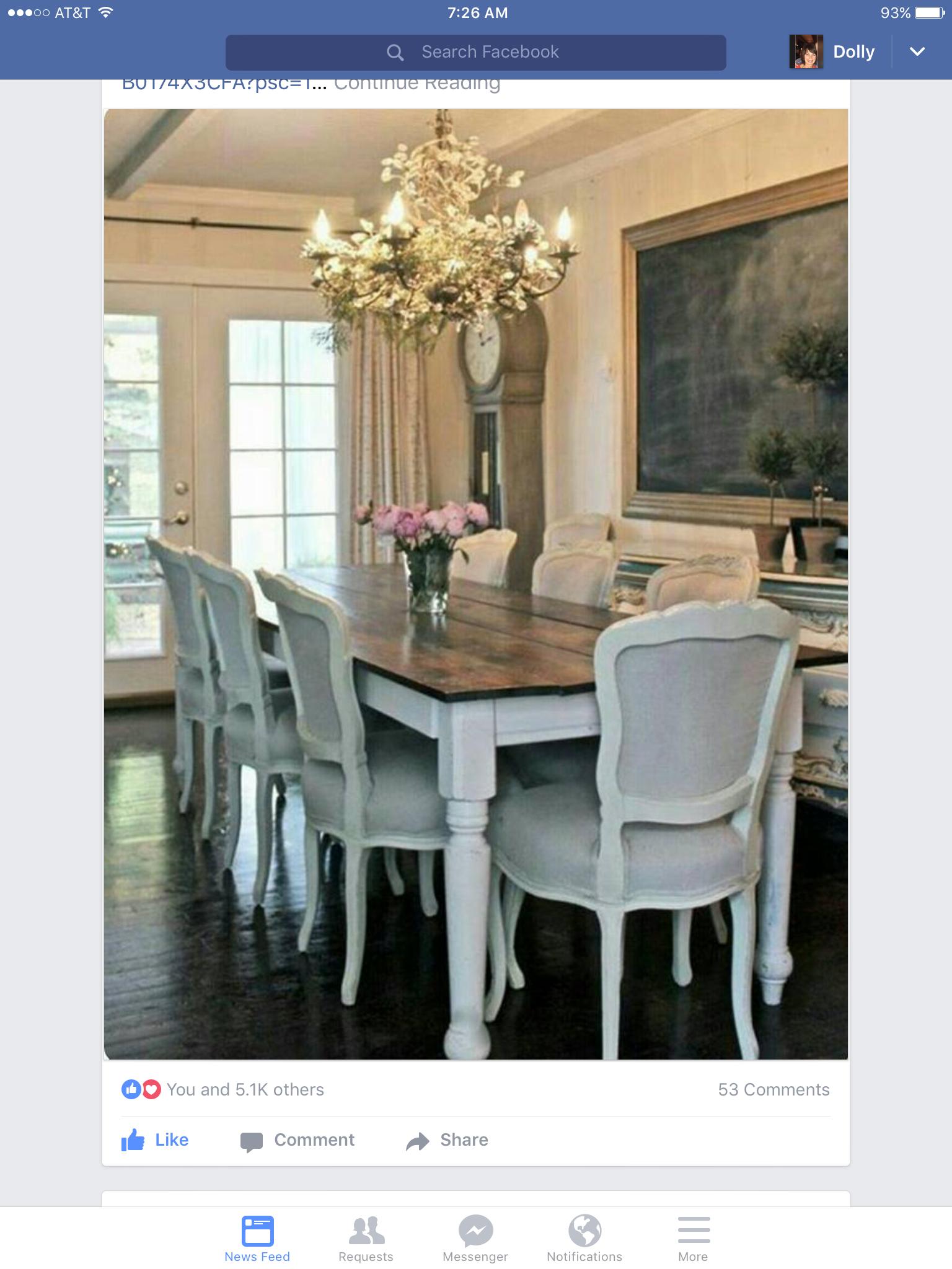 Pin von Dolly Beaudoin auf dining room | Pinterest