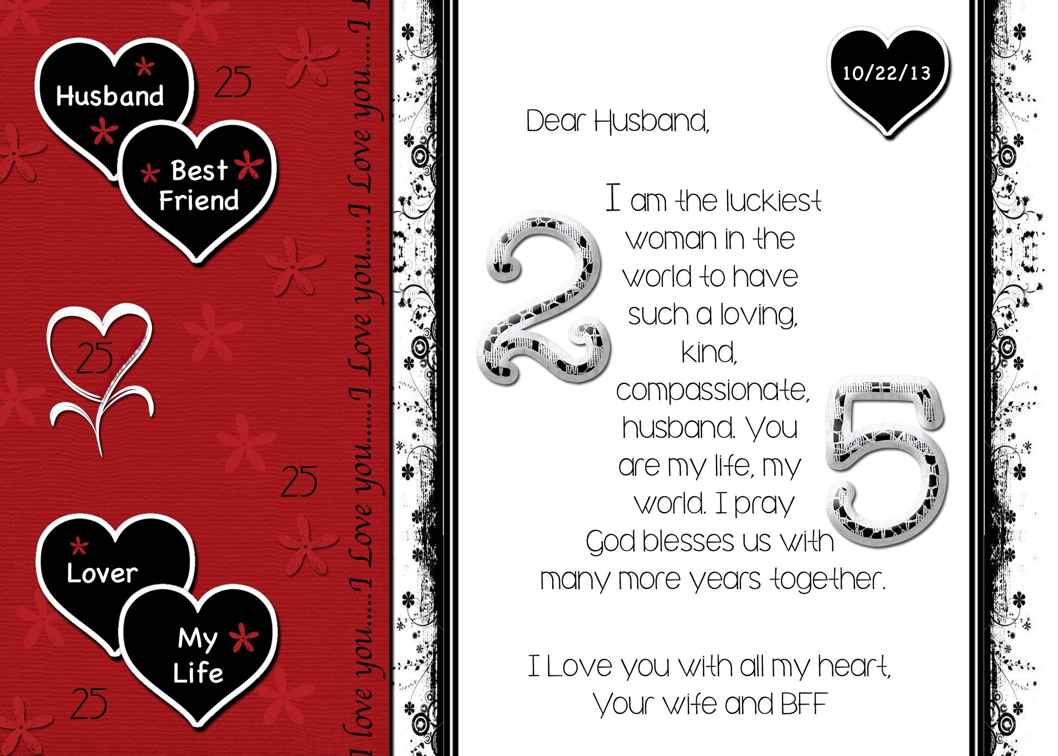 Homemade Anniversary Ideas For Husband: Homemade Anniversary Cards For Him
