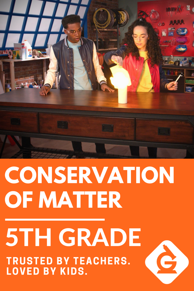 Conservation of Matter for 5th grade! Check out this science video \u0026 lesson  on the Conservation of Mat…   Matter activities [ 1102 x 735 Pixel ]