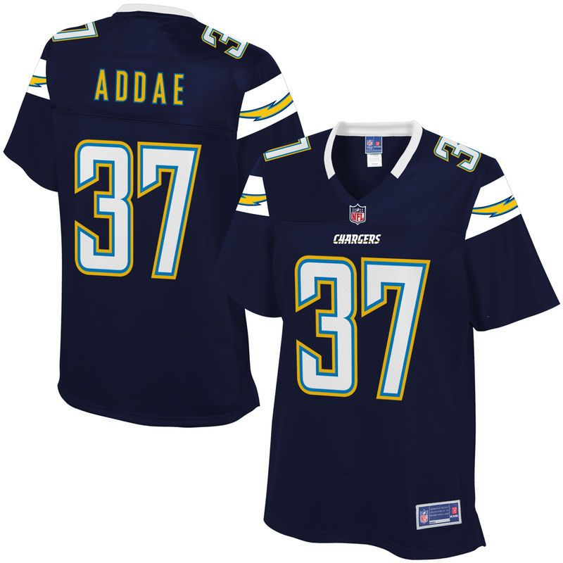 Women s Los Angeles Chargers Jahleel Addae NFL Pro Line Team Color Jersey 80ce49d8b