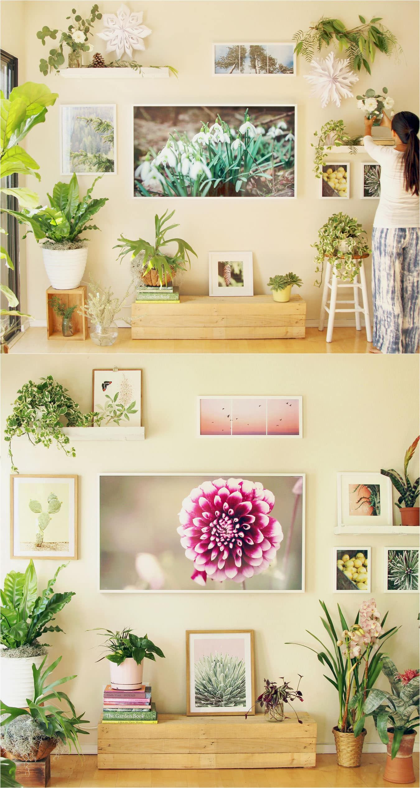 TV Wall to Beautiful Picture Wall in 5 Easy Steps | Picture walls ...