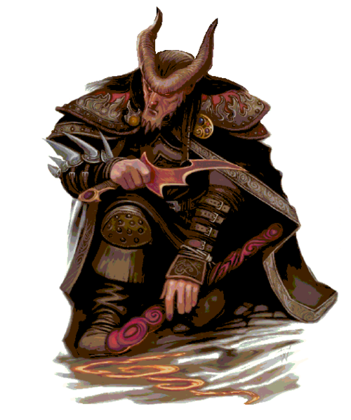 Character and iago