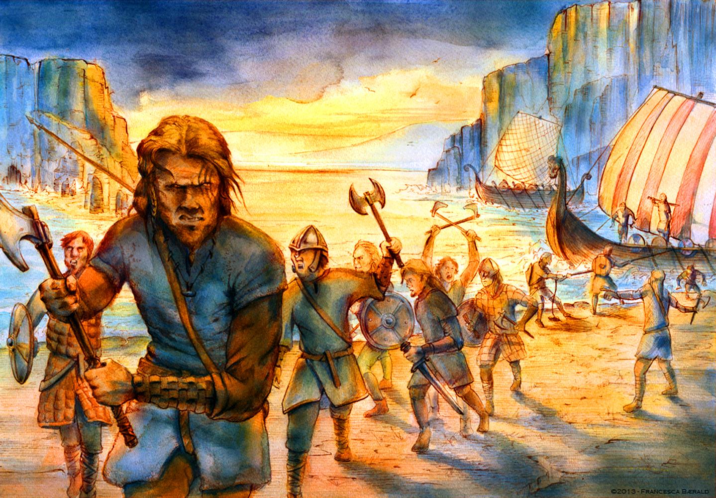 Жизнь викингов в картинках штуцеры применяют