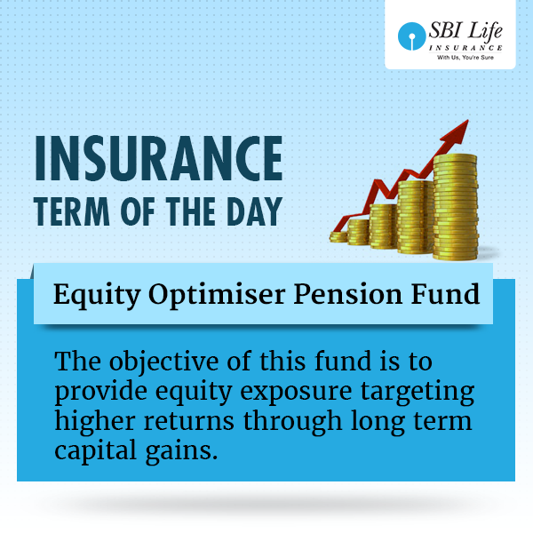 Insurance Term Of The Day Equity Optimiser Pension Fund Pension