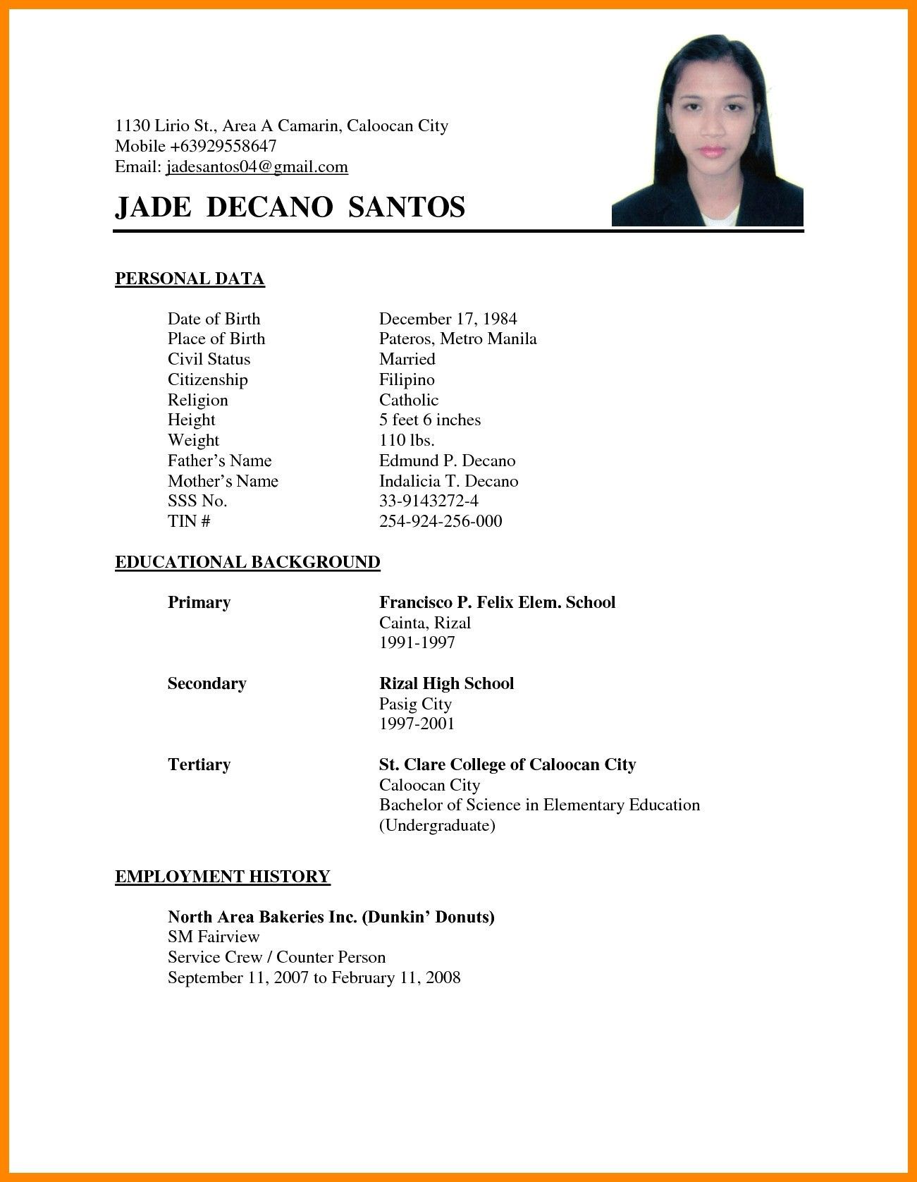 Muslim Marriage Resume Format For Boy Unique Proposal The Standard Of 13 Matrimony Biodata Template On Basic Resume Basic Resume Examples Simple Resume Format