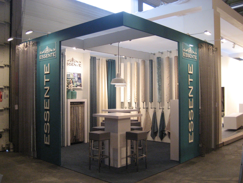 Fancy Essente stand Intirio Ghent gordijnen interieurdecoratie raamdecoratie onlinegordijnen opmaatgemaakt