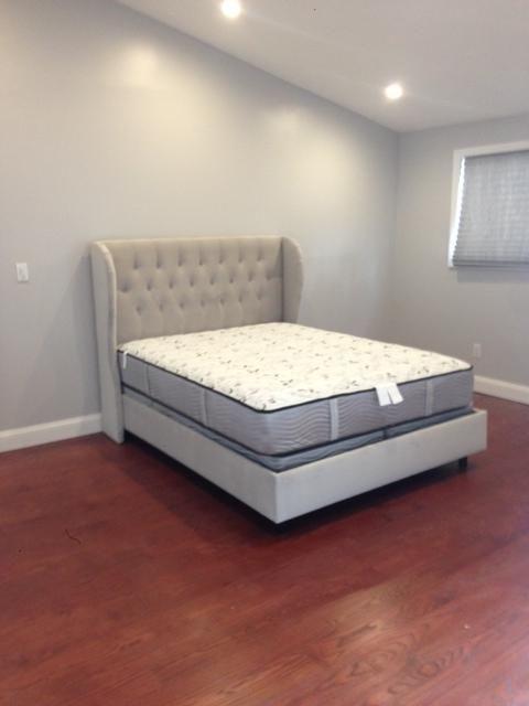 skyline furniture velvet tufted wingback bed | roselawnlutheran