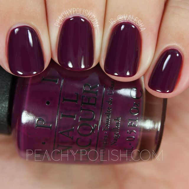 OPI: Fall 2016 Washington D.C. Collection Swatches & Review (Peachy ...