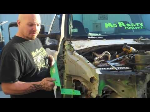 Ford Superduty Nose Swap Front End Conversion Kit F250 F350 F450 Excursion Mcnasty Customz Youtube Ford Excursion Excursions Ford Super Duty