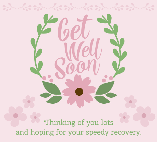 Wish A Speedy Recovery With This Beautiful Floral Ecard Getwellsoon Free Online Greeting Cards Get Well Wishes Get Well Soon