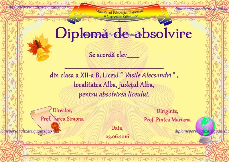 d diploma de absolvire liceu semipersonalizata model jpg  d201 diploma de absolvire liceu semipersonalizata model 06