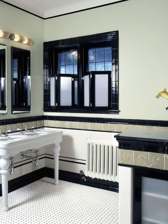 "Modish Bathroom Lighting Ideas With Modern Concept: ""art Deco Bathrooms"" Design, Pictures, Remodel, Decor And"