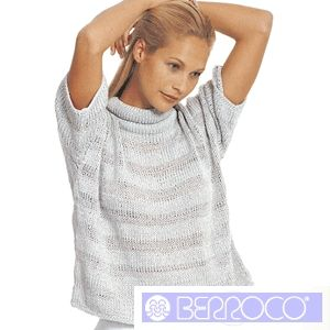Ariel Knitted Ladies Summer Top Pattern by Berroco - FREE Knitting Pattern  - Planet Purl 85c864176