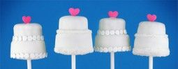 Wedding Cake Pops - attempting to make these next week!
