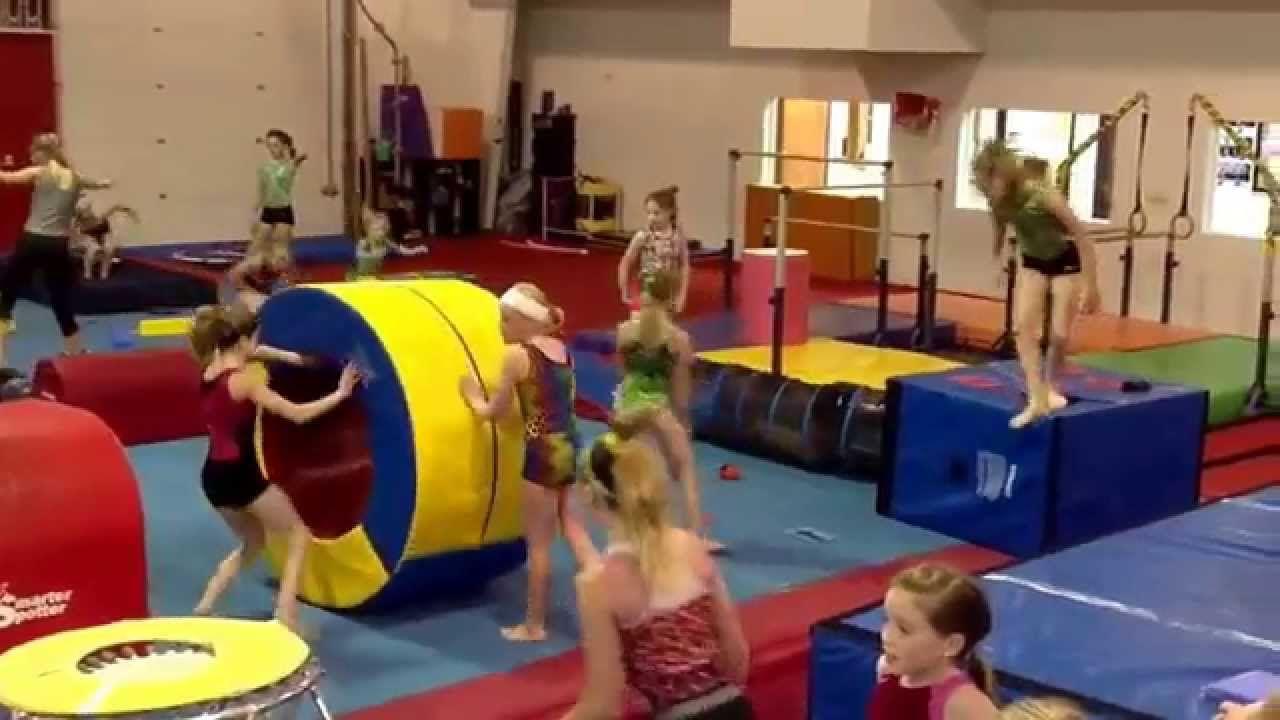 American Ninja Warrior Course At Twisters Gymnastics Gymnastics Skills American Ninja Warrior Ninja Training