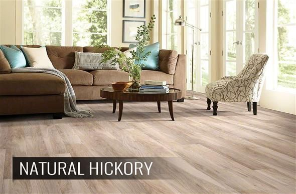 10mm Shaw Grand Summit - Hickory Laminate Flooring
