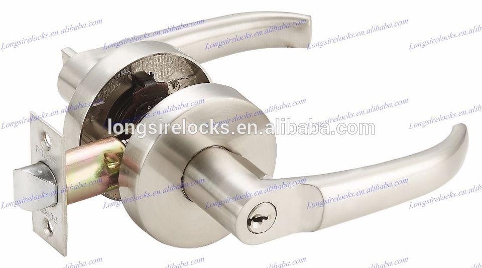 Easy to install double sided door handle lock | alibaba | Pinterest ...