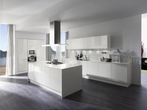 cucine con isola centrale - | Cucine | Pinterest | Cucine, Cucine ...