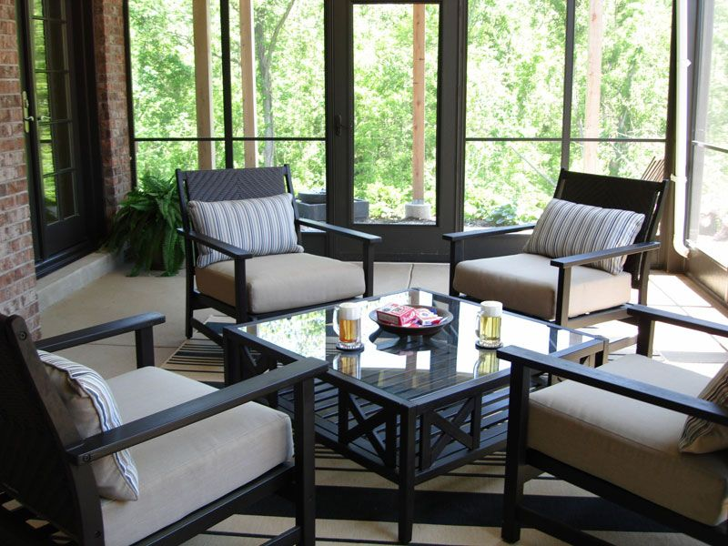 Adding A Screened In Porch Allows You To Enjoy The Outdoors Without Mother Nature Invading Outdoor Living