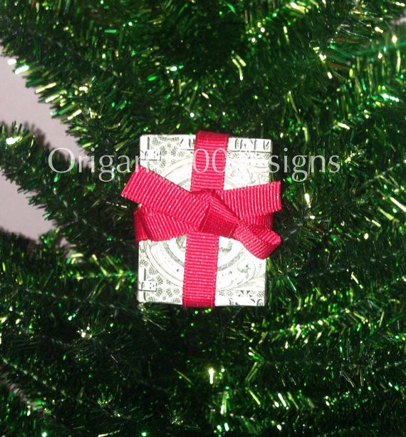 Dollar Bill Origami Christmas Tree: Details About Beautiful Money Origami Art Pieces