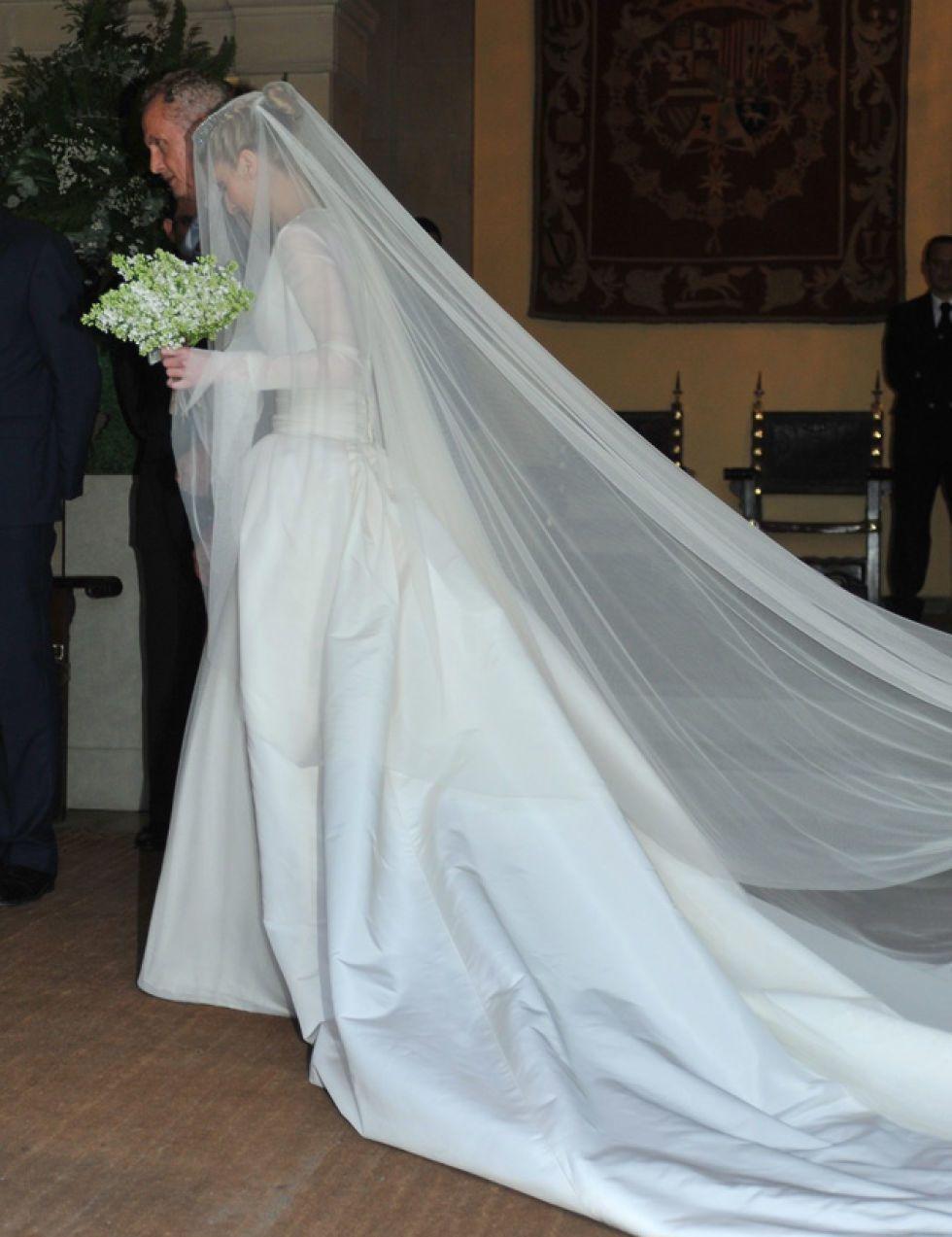 Nice Vestidos De Novia De Famosas Españolas Crest - Colorful Wedding ...