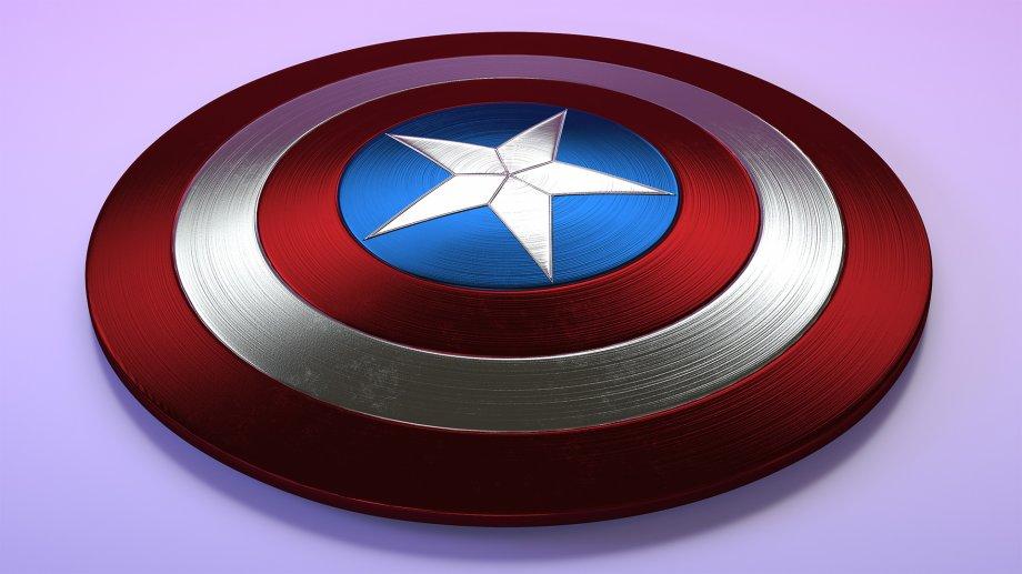 Captain America Shield 3d Model Cgstudio Captain America Shield Captain America Captain America Comic Books