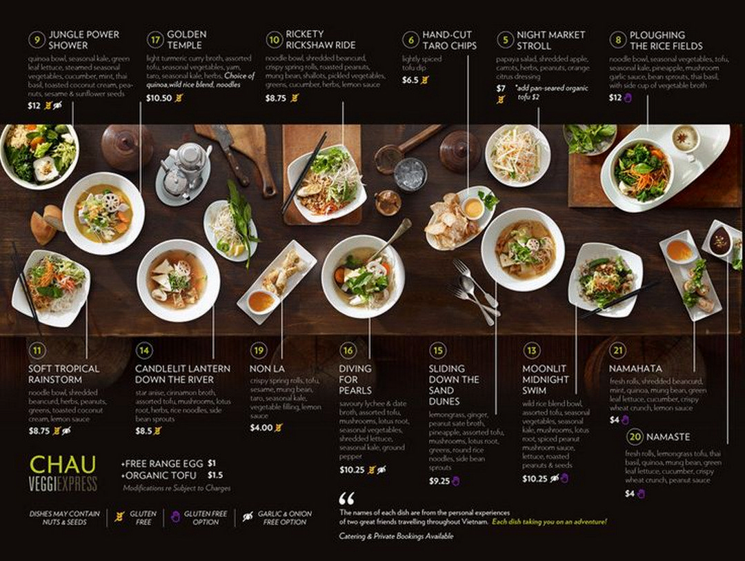 Creative restaurant menu designs to catch everyone s