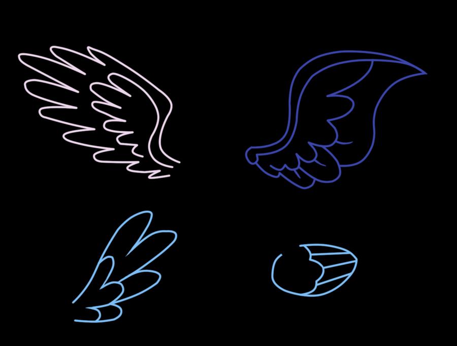 Картинки крылья пони, днем рождения доченьки