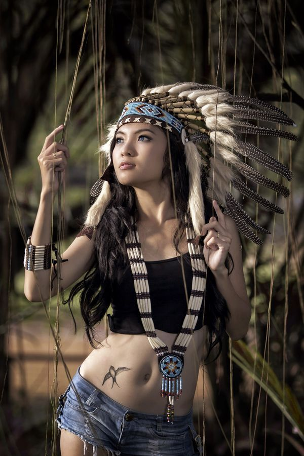 Nude and sexy native americans