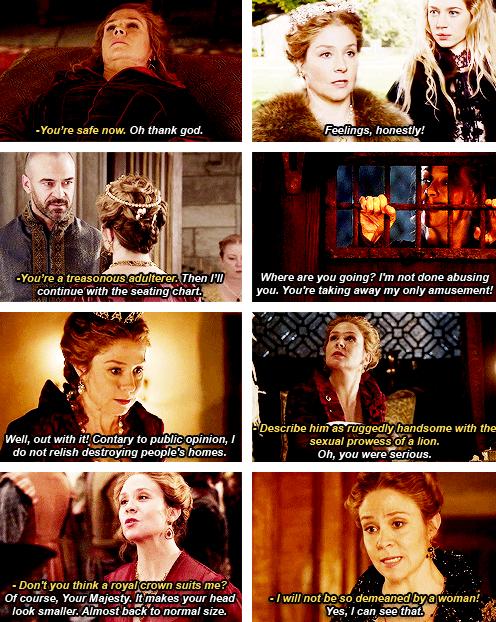 Catherine de Medici + sass