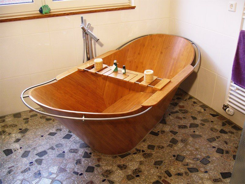 1000 Products Made from Bamboo | Bathtub, Bath tubs and Tubs