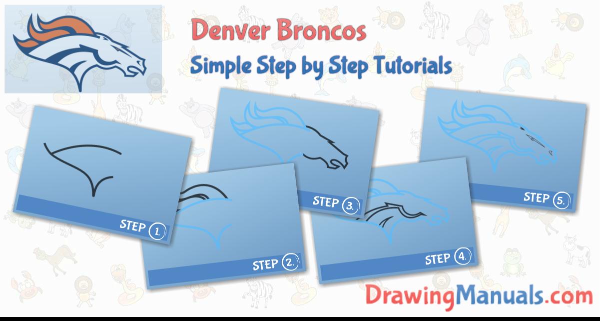 Denver Broncos Super Bown 2016 Denver broncos, Drawing