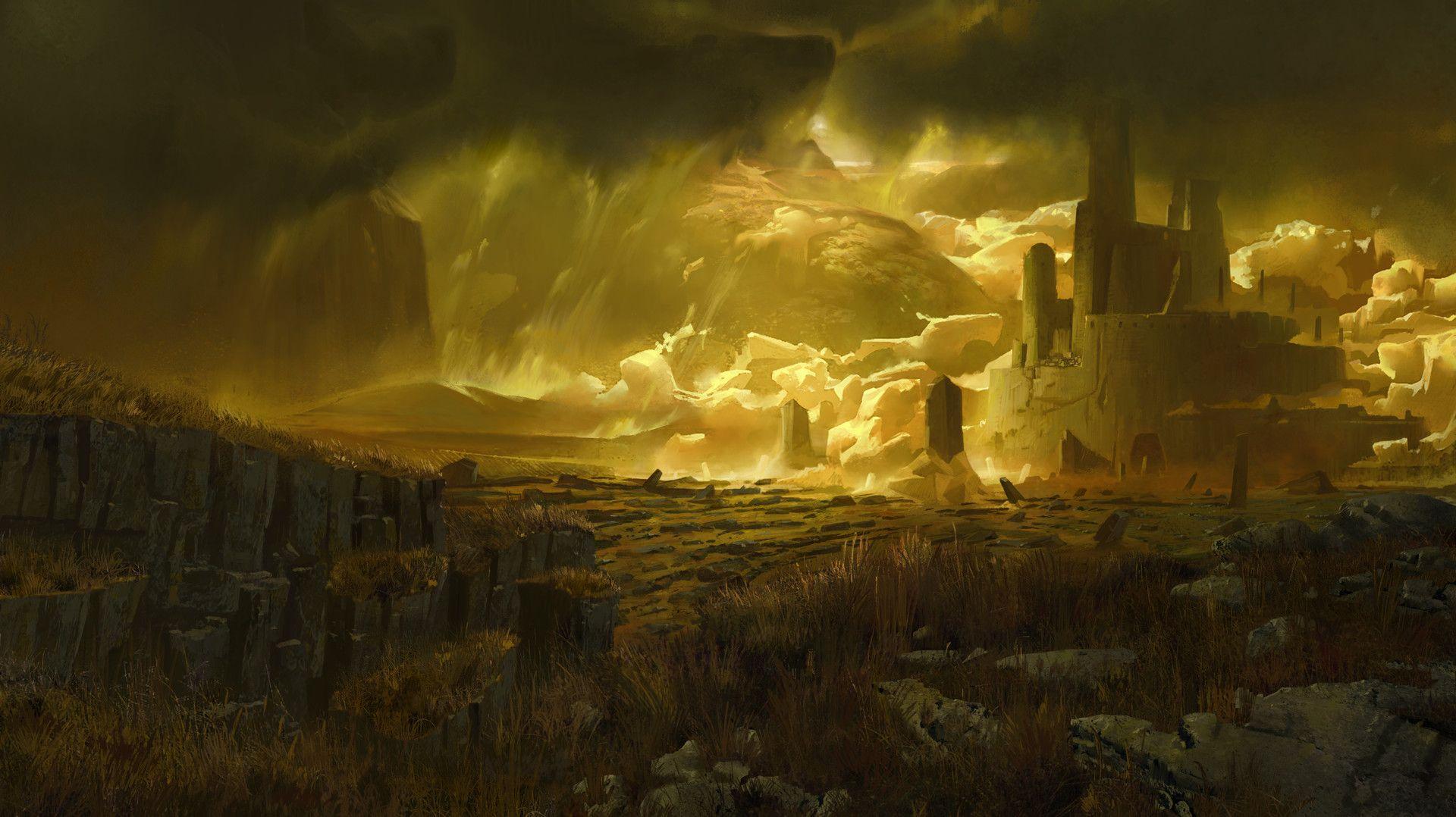 ArtStation - Sulfur Plains, Elijah McNeal