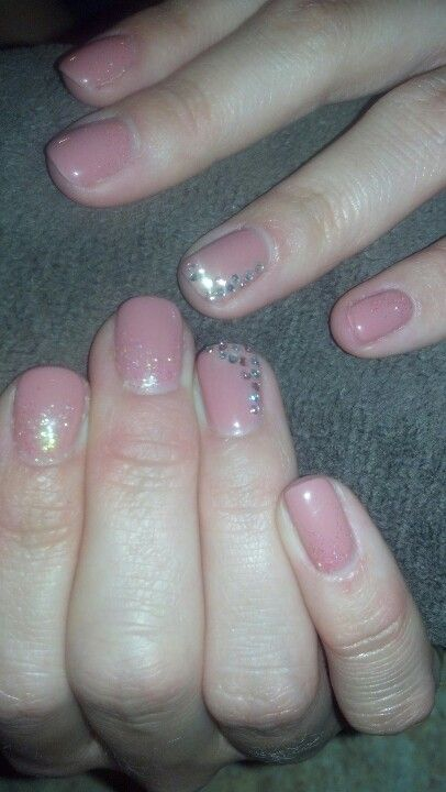 Sparkly and pretty!!!!  Love my NAILS