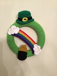 Photo of St. Patrick & # 39; s Day / March wreath … pattern by Rilla Edwards