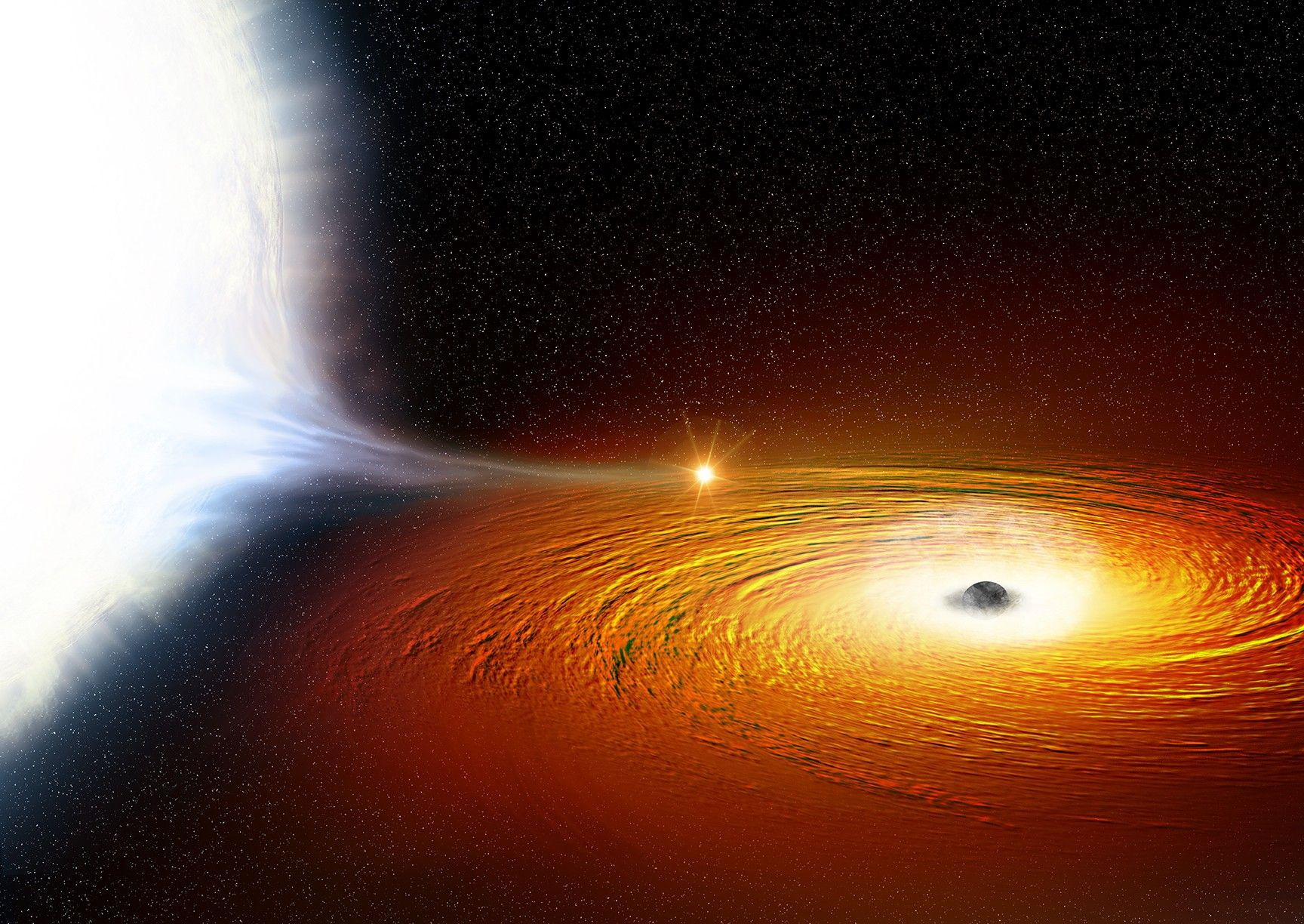 The Closest Star To A Black Hole Astronomers Have Ever Seen Space Black Hole Theory Black Hole Astronomy