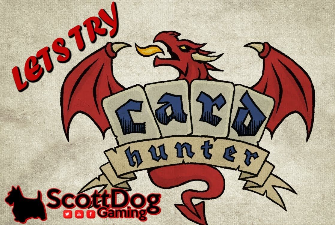 LETS TRY CARD HUNTER GAME PLAY ScottDogGaming HD (With