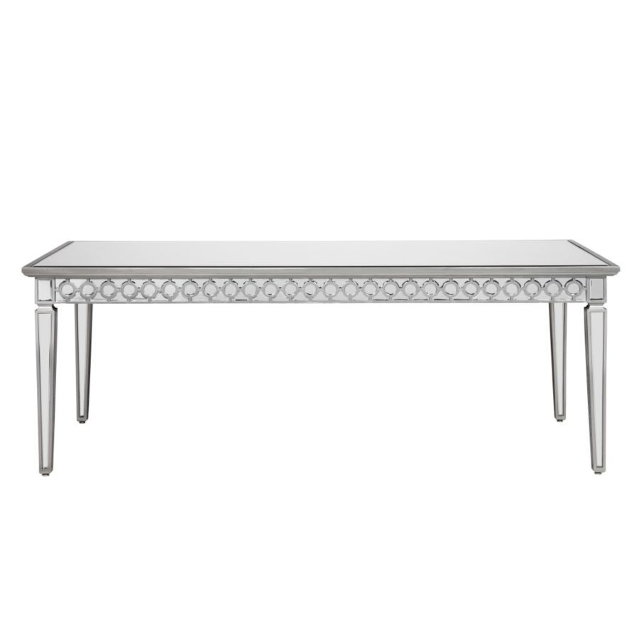 Sophie Mirrored Dining Table Mirrored Furniture Dining Table Decor