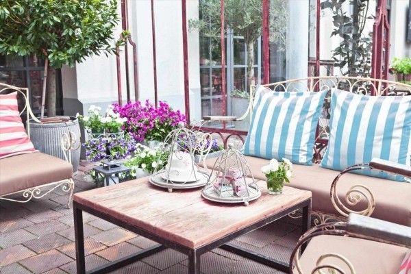 Perfekt Moderne Dekoration Balkon Dekor Bepflanzen Ebenfalls Geräumiges Emejing Pflanzen  Topfen Kubeln Terrasse Gallery