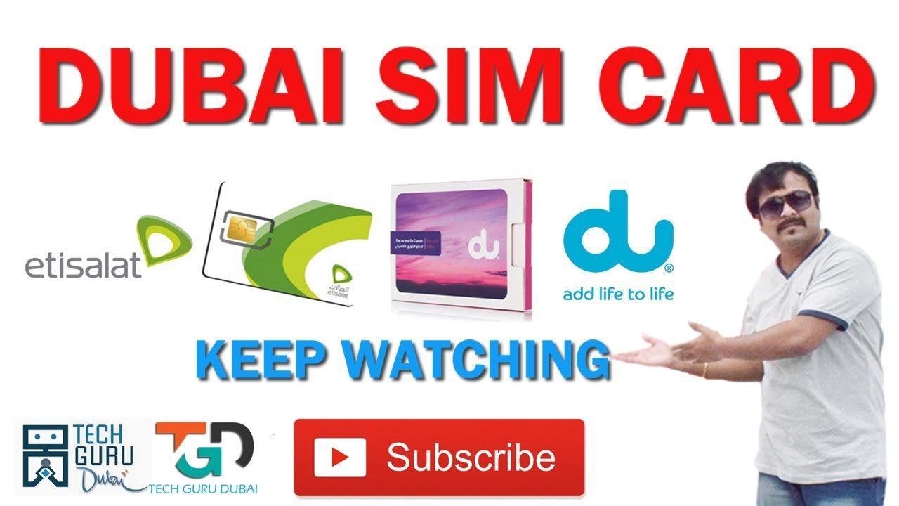 Dubai Sim Card Name List In 2021 Cards Name List Relatable