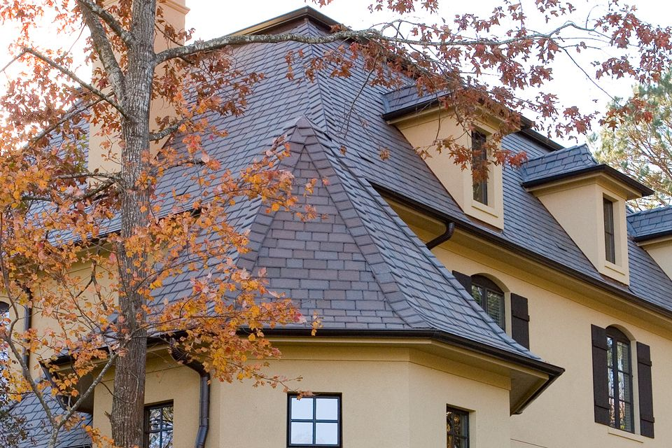 Best Another View Davinci Roof Brownstone Multi Width Slate 400 x 300