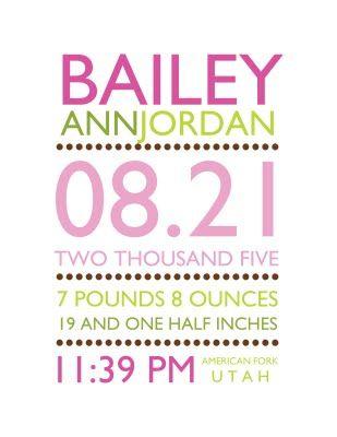 cute for birth announcements
