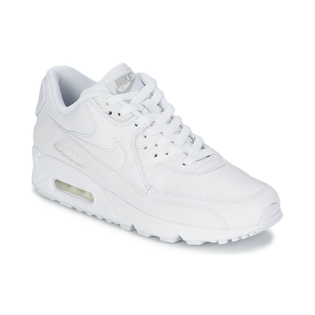 newest 1f7db f21b6 Baskets basses Nike AIR MAX 90 ULTRA ESSENTIAL W Blanc   Gris prix promo  Baskets Femme Spartoo 145.00 €