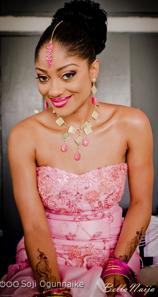 Pink Nigerian traditional bride. I may go with this color and look ...