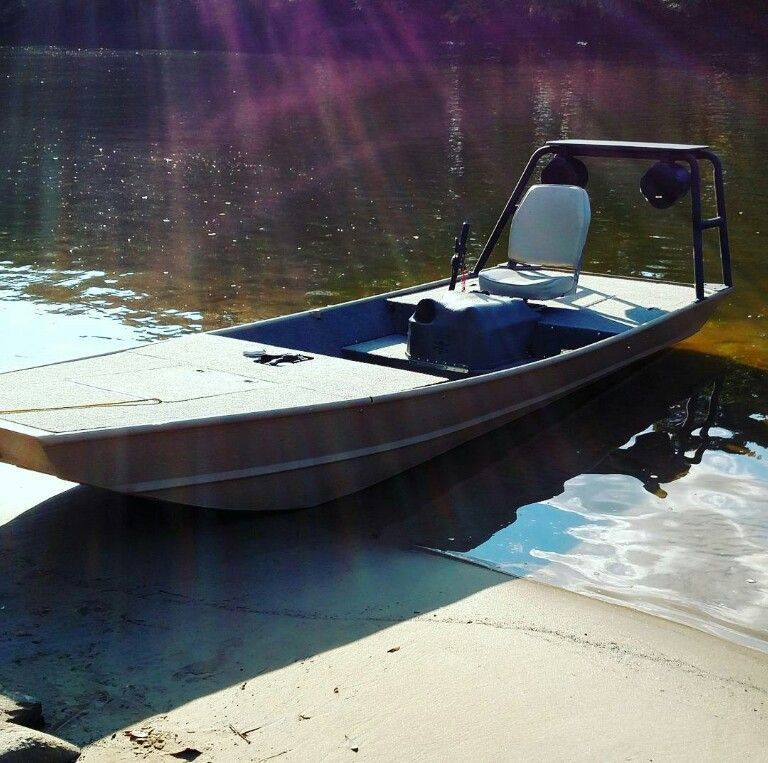 Inboard custom jon boat with subs pinteres for Build fishing boat